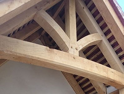 Replacement Timber Frame in Suffolk
