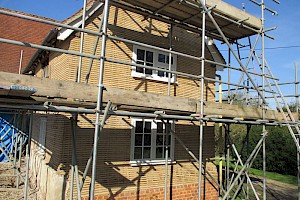 Exterior Lath and Plaster repairs Suffolk