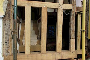 Timber frame repairs Suffolk and Essex.