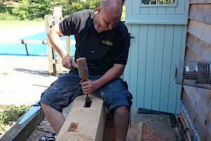 Hand-crafted timber repairs Suffolk