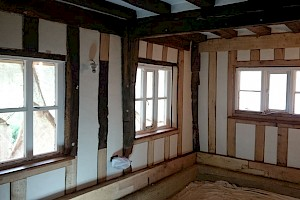 Replacement Timber frame installation Suffolk